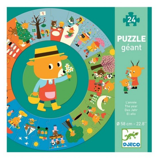 Giant Puzzle 'The Seasons'