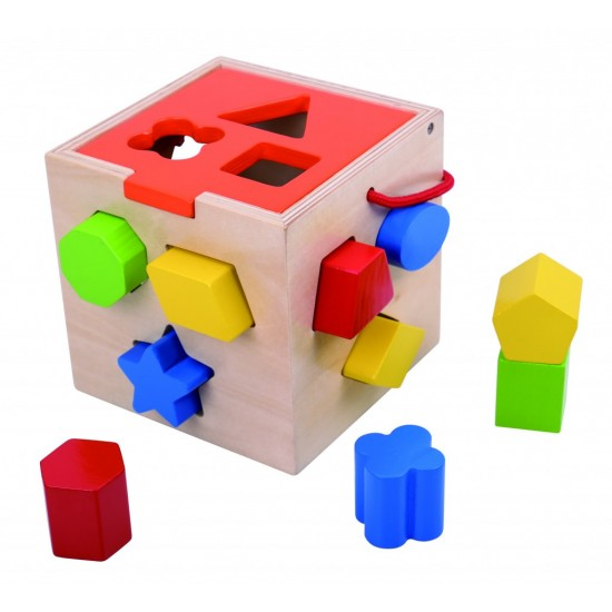Wooden cube, wedges